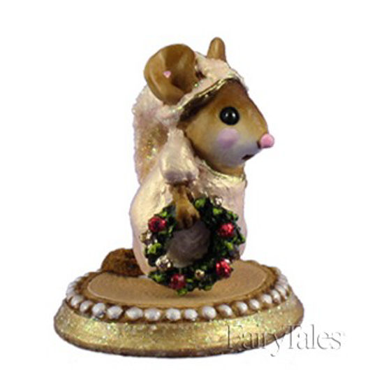 A Little Christmas Spirit M-287a Gold by Wee Forest Folk®