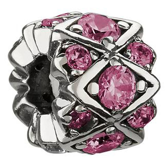 Shimmering Stone-Pink CZ by Chamilia