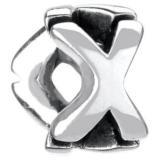 Letter X by Chamilia