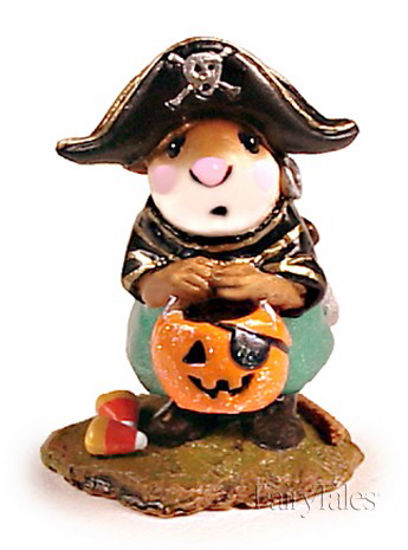 Little Pirate Kidd M-216 Teal by Wee Forest Folk®