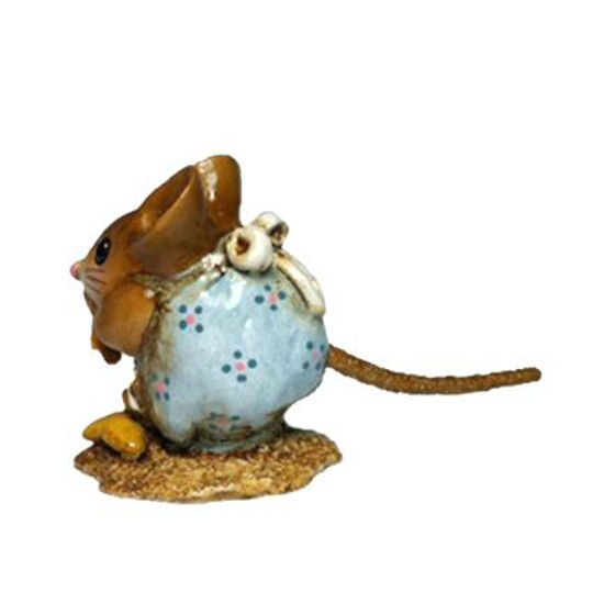 Nibble Mouse NM-1 Robin Egg by Wee Forest Folk®