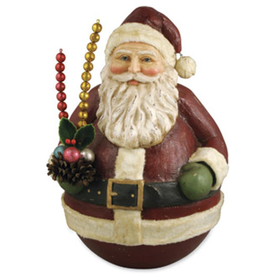 Roly Poly Santa by Bethany Lowe Designs