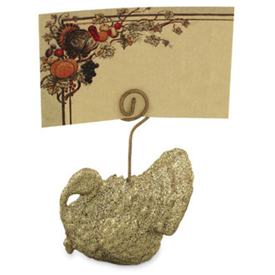 Turkey Place Card & Holder by Bethany Lowe Designs