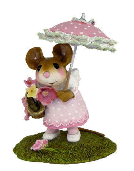 My Polka-Dotted Parasol M-341a Pink by Wee Forest Folk®