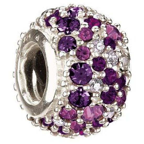 Jeweled Kaleidoscope-Purple Swarovski by Chamilia