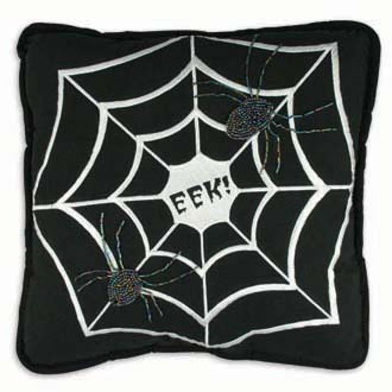 Web Pillow by Bethany Lowe Designs