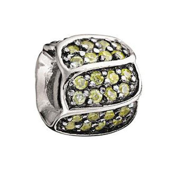 Jeweled Petals-Golden CZ by Chamilia