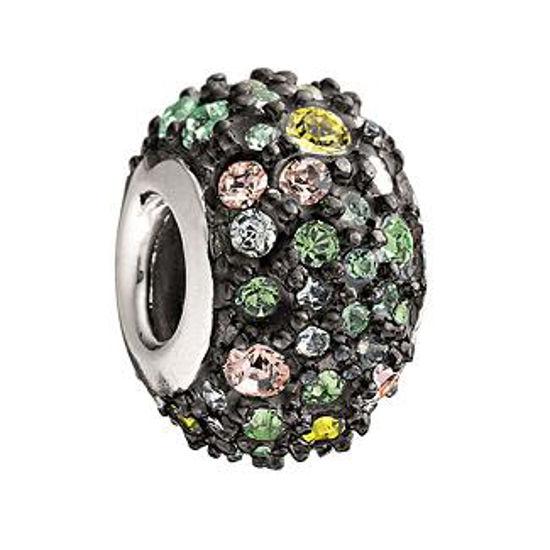 Jeweled Kaleidoscope-Mixed Green Swarovski by Chamilia