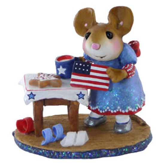 Drop in for the Fourth M-341b by Wee Forest Folk®
