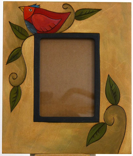Bird Picture Frame by Sticks