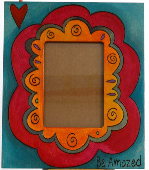 Be Amazed Picture Frame by Sticks