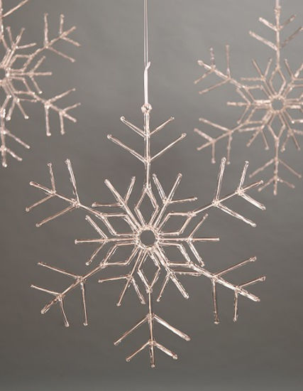 "Snowflake Ornament 24"" by Bethany Lowe Designs"