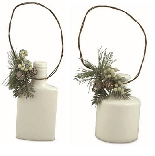 Glazed Jar Ornament Set by Bethany Lowe Designs