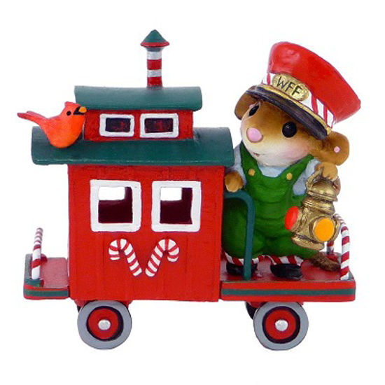 Christmas Caboose M-453f by Wee Forest Folk®