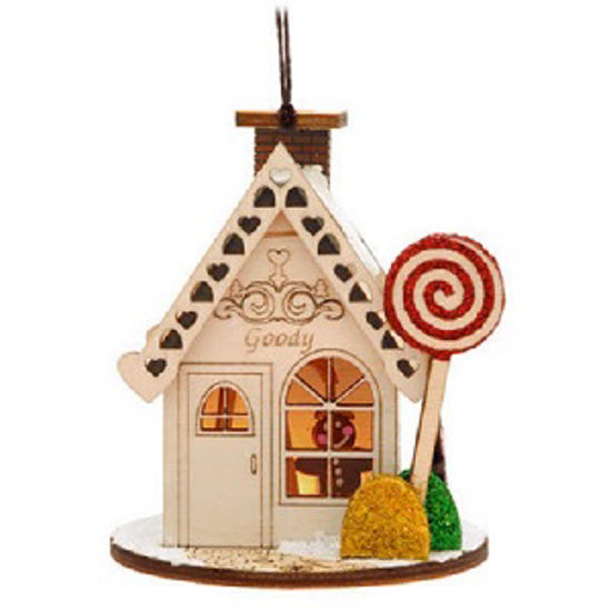 Goody Gum Drop Shop Ornament by Ginger Cottages