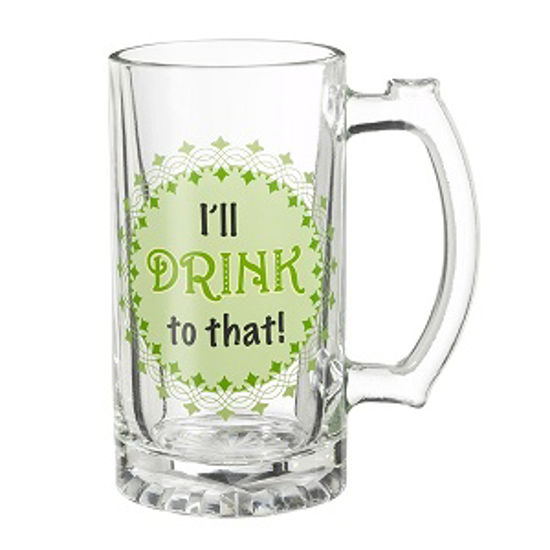 I'll Drink To That Beer Stein by Grasslands Road