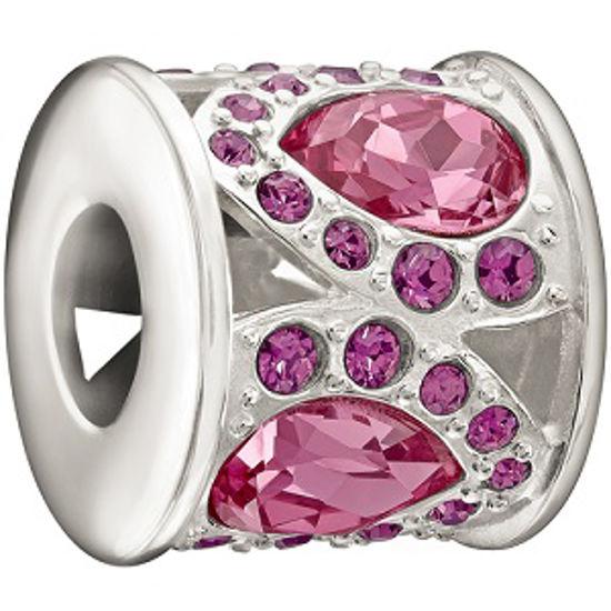 Royal Petals, Pink and Purple by Chamilia