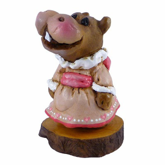 Miss Hippo H-1s Forget-Me-Not by Wee Forest Folk®