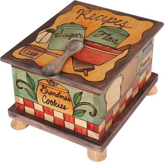 Grandma's Cookies Recipe Box by Sticks