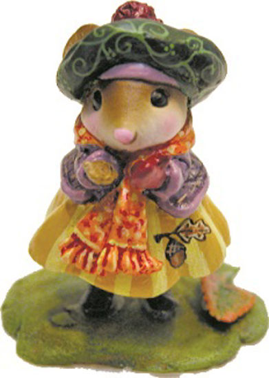 Preparing For Winter (Acorn) by Wee Forest Folk®