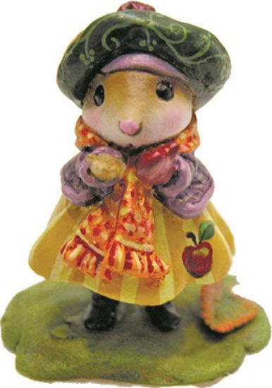 Preparing For Winter (Apple) by Wee Forest Folk®