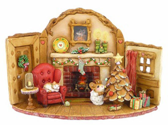 Home at Christmas M-510 by Wee Forest Folk®