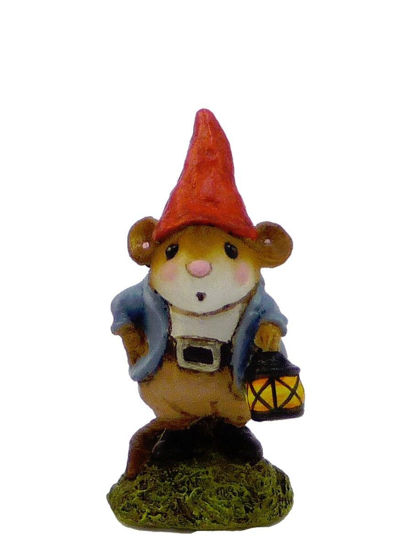 Gnome Statue M-393 by Wee Forest Folk