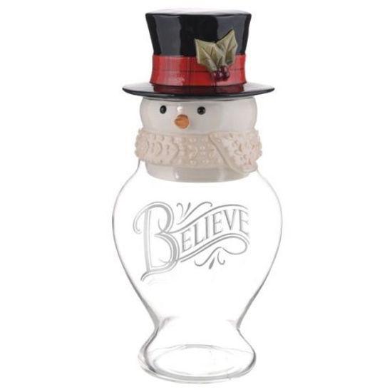 Snowman Cookie Jar by Grasslands Road