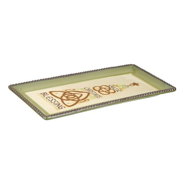 Celtic Christmas Tray by Grasslands Road
