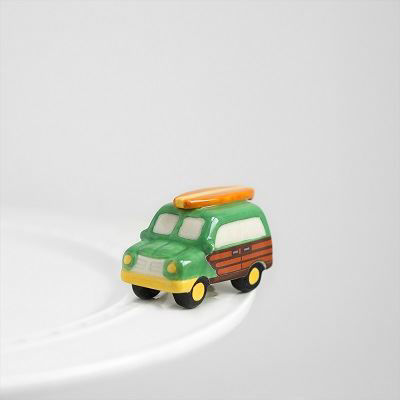 Surf's Up! (Woody Wagon) Mini by Nora Fleming