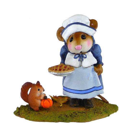 Wee Pumpkin and Pie M-496 Blue by Wee Forest Folk®