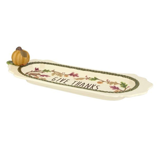 Cheese Tray with toothpick holder by Grasslands Road