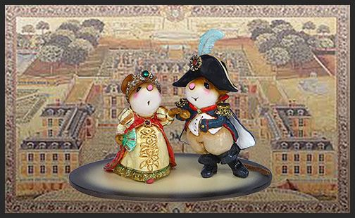 Napoleon and Josephine M-529 by Wee Forest Folk®