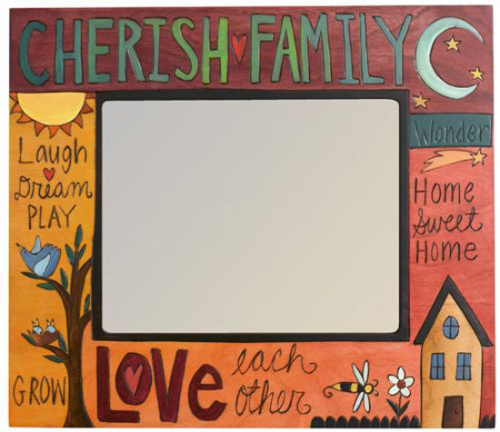 Cherish Family Picture Frame by Sticks