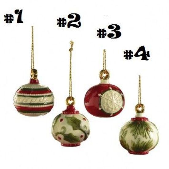 Salt & Pepper Ornaments by Grasslands Road