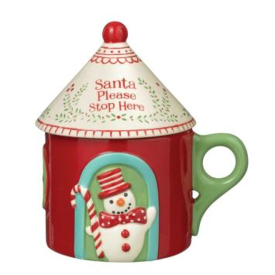 Merry Mini Cottage Mug with Lid by Grasslands Road