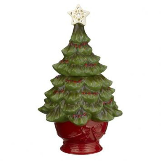 Tree Light-Up Cookie Jar by Grasslamds Road