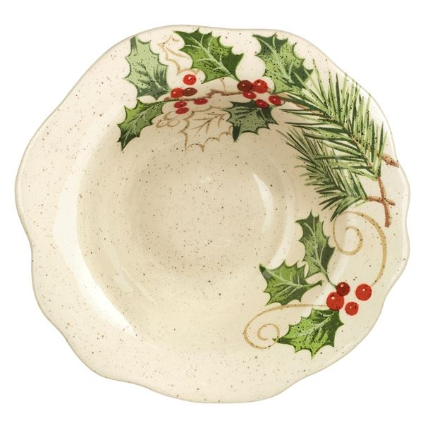 "9"" Holly Bowl by Grasslands Road"