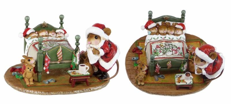 Surprised Santa! M-514s by Wee Forest Folk®