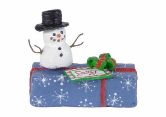 Gift with Snowman A-34 by Wee Forest Folk®
