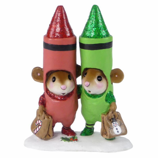 Christmas Crayons M-533a by Wee Forest Folk®