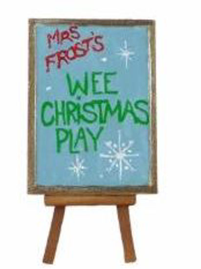 Wee Christmas Easel by Wee Forest Folk®