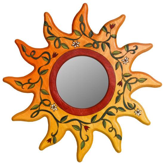 Sunshine and Vines Mirror by Sticks