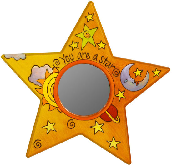 You Are A Star Wal Mirror by Sticks