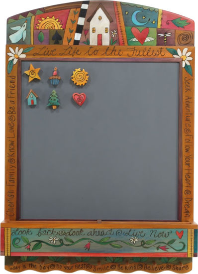 Live Life To The Fullest Activity Board by Sticks