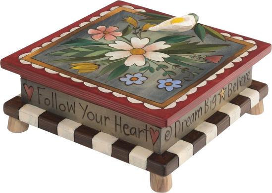 Follow Your Heart Storage Box by Sticks