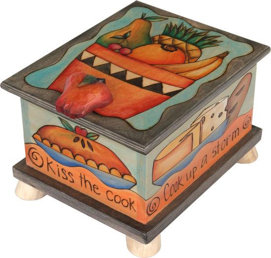 Food Storage Box by Sticks