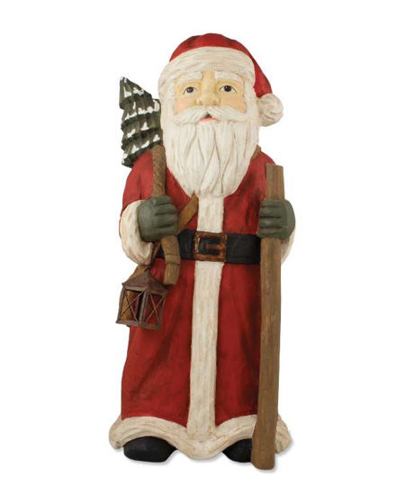 Santa with Staff Traditional by Bethany Lowe Designs