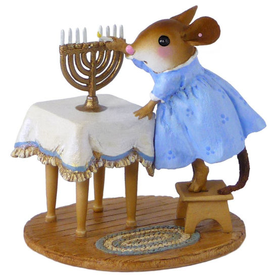 Lighting the Menorah M-519 by Wee Forest Folk®