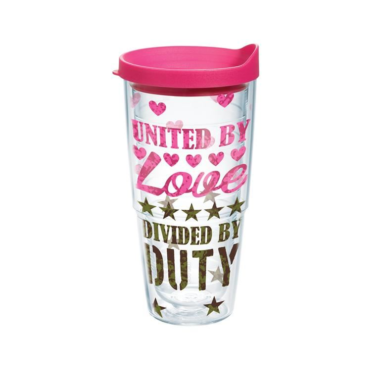United By Love Divided By Duty 24oz by Tervis